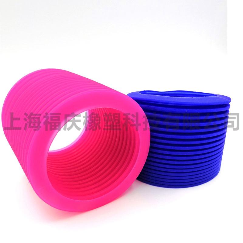 上海厂家直销橡胶波纹管 橡胶皮碗 可定制橡胶护套橡胶件